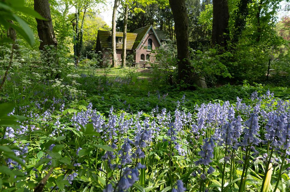 Voormalig Weckhuis nabij de tuinen van Oostduin