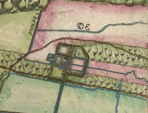 Kaart uit 1611